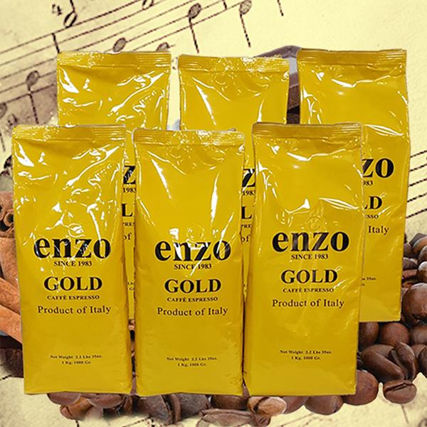 Enzo Gold Espresso Coffee 6 Kilos