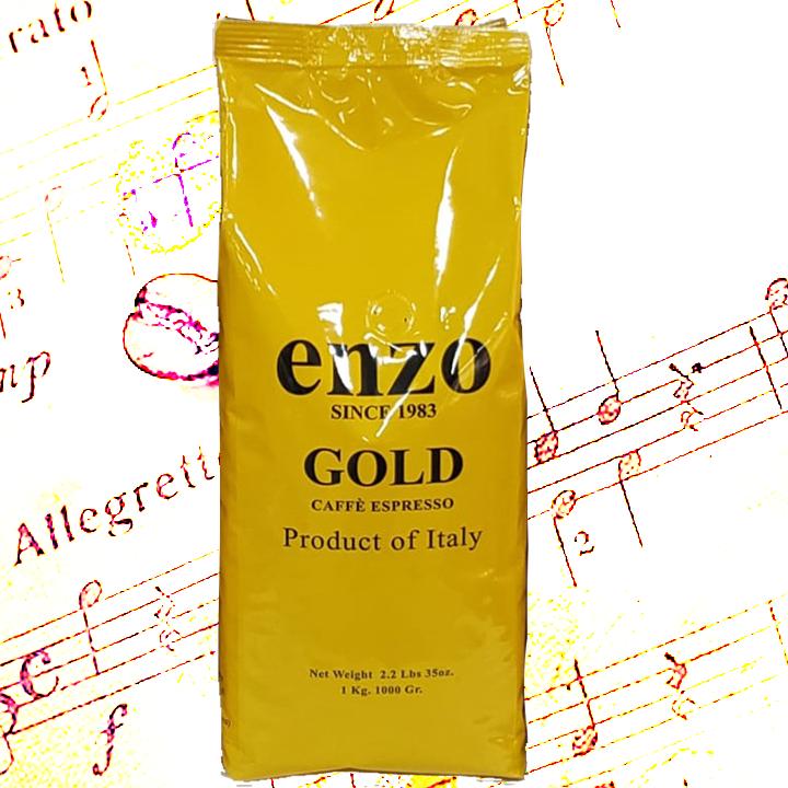 enzo gold 1 Kg. Espresso Beans